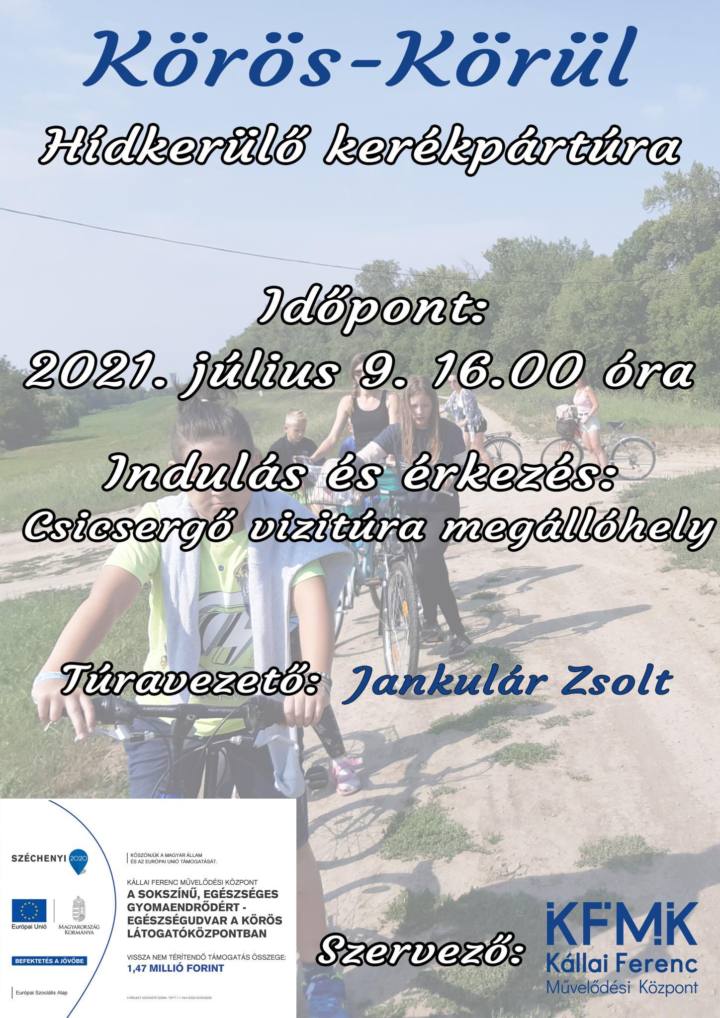 Körös-Körül Hídkerülő kerékpártúra